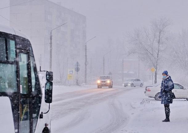 В Хабаровском крае ожидается мокрый снег и сильный ветер